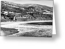 Pacific Coast Hills Greeting Card by John Rizzuto