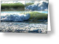 Pacific Waves Greeting Card