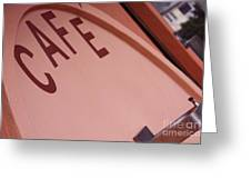 Pacifica Pier Cafe Greeting Card