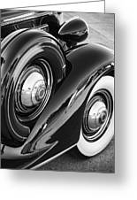 Packard One Twenty Greeting Card