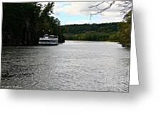 Paddle Boat Greeting Card
