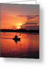 Paddle To Home Greeting Card