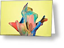 Paint Art Greeting Card