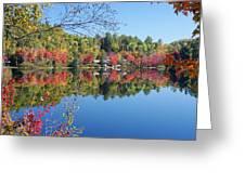 Paint Lake  Muskoka Canada Greeting Card
