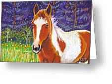 Paintchip Greeting Card by Harriet Peck Taylor
