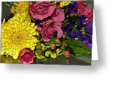 Painted Bouquet Greeting Card