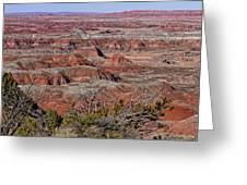 Painted Desert Greeting Card