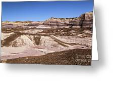 Painted Desert Landscape Greeting Card