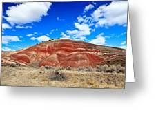 Painted Hills In Eastern Oregon Greeting Card