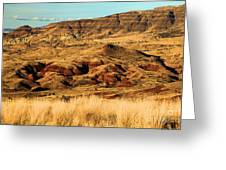 Painted Hills In Sheep Rock Greeting Card