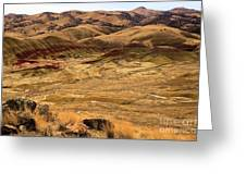 Painted Hills Landscape Greeting Card