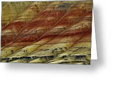 Painted Hills Lines Greeting Card