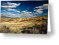 Painted Hills Oregon Greeting Card