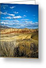 Painted Hills Greeting Card