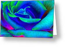 Painted Rose 2 Greeting Card