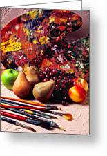 Painters Palette  Greeting Card by Garry Gay