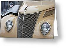 Pair Of Fords Greeting Card
