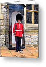 Palace Guard Greeting Card