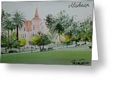 Palace Greeting Card