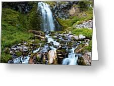 Palaikni Falls Valley Greeting Card