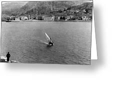 Palamidi Fortress - Greece - C 1907 Greeting Card
