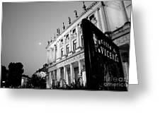 Palazzo Chiericati By Night Greeting Card