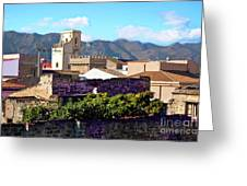 Palermo View Greeting Card