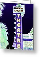 Palm Springs Nightlife Greeting Card