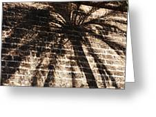 Palm Tree Cup Greeting Card