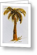South Carolina Palm Tree Greeting Card
