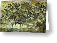 Palms Haiku Greeting Card