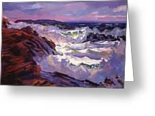 Palos Verdes Beach Greeting Card