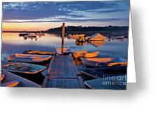 Pamet Harbor Greeting Card