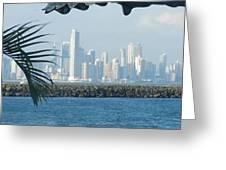 Panama City Panama Greeting Card