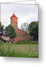 Panemunes Castle. Lithuania. Greeting Card