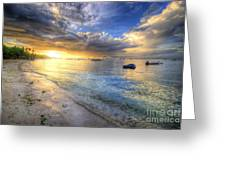 Panglao Island Sunrise Greeting Card