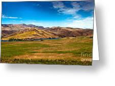 Panoramic Range Land Greeting Card