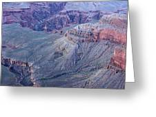 Panoramic View Of The Grand Canyon Greeting Card