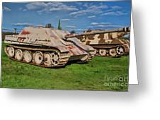 Panzerjager V Greeting Card