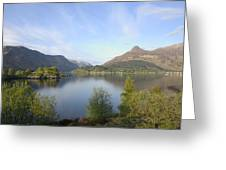 Pap Of Glencoe Greeting Card