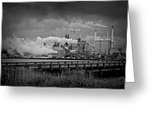 Paper Mill Greeting Card by Williams-Cairns Photography LLC