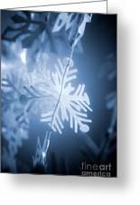 Paper Snowflake Greeting Card