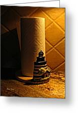 Paper Towel Holder Greeting Card