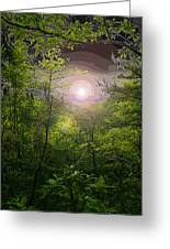 Paradise At Dawn Greeting Card