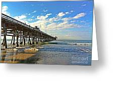 Paradise At The Pier Greeting Card
