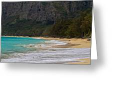 Paradise With A Ocean View Greeting Card