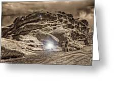 Paranormal Rockies Greeting Card