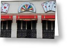 Paris Casino Greeting Card