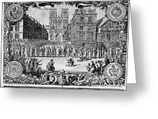 Paris: Catholic Procession Greeting Card