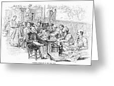Paris: Chat Noir, 1889 Greeting Card